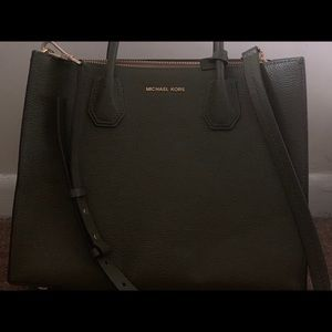 Michael Kors 2018 dark green tote bag